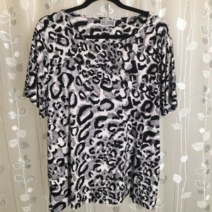 JM Collection Liquid Knit Blouse - 1X